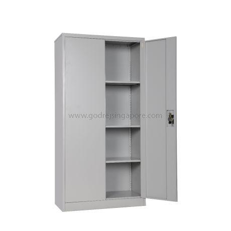 Full Height Swing Door Metal Cabinet Rej Furniture Solutions Provider Singapore