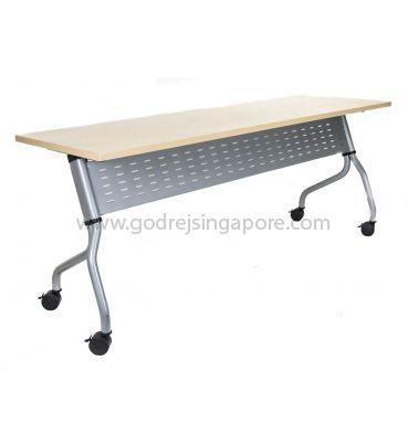 Training Table - Metal Modesty Panel Model LS713-1800mm
