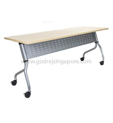 Training Table - Metal Modesty Panel, Model LS713-1500mm.
