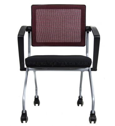 Training chair with Swivel Back,  Model LS542 Red