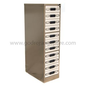 11 DRAWER CARD INDEX CABINET