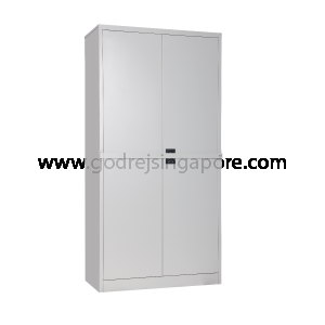 FULL HT SWING DOOR METAL CABINET 4SH WITH SECURITY BAR