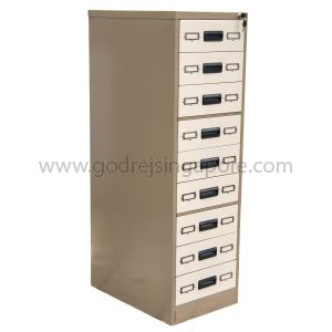 9 DRAWER CARD INDEX CABINET