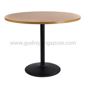 Round Discussion Table Trumpet Leg 1000mm