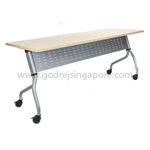 Training Table - Metal Modesty Panel, Model LS713-1500mm.