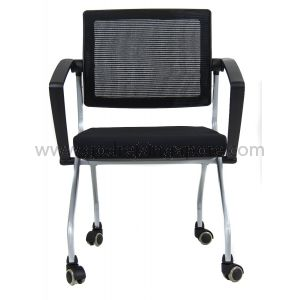 Training chair with Swivel Back, Model LS542 Black