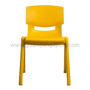 Childrens Chair YCX004 - Yellow 33.5cm High