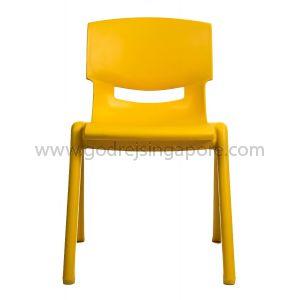 Childrens Chair YCX004 - Yellow 33.5cm High