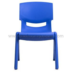 Childrens Chair YCX004 - Blue 33.5cm High