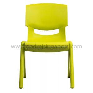 Childrens Chair YCX004 - Green 33.5cm High