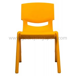 Childrens Chair YCX001 - Orange 30.0cm High