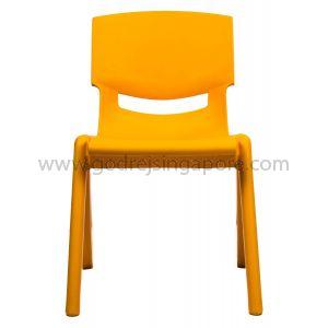 Childrens Chair YCX001 - Orange 30.0cm High