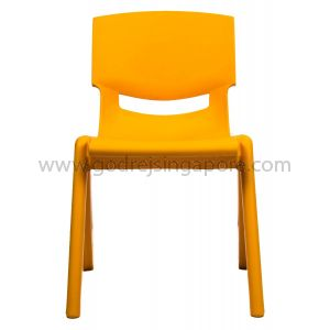 Childrens Chair YCX003 - Orange 26.0cm High