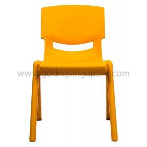 Childrens Chair YCX003 - Orange 26.0cm High