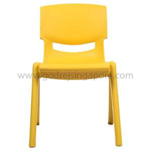 Childrens Chair YCX001 - Yellow 30.0cm High