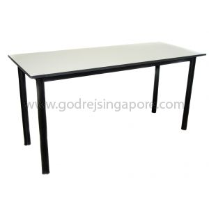 Non Foldable Rectangular Table 1800mmW x 600mmD x 750mmH-Light Grey