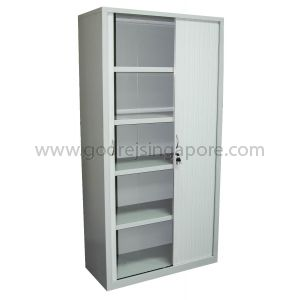 FULL HEIGHT TAMBOUR DOOR CABINET 1000mmW