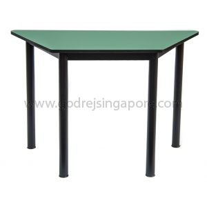Trapezium Table - Green