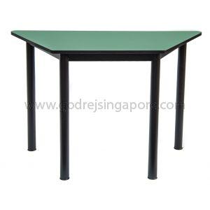 Trapezium Table - Green