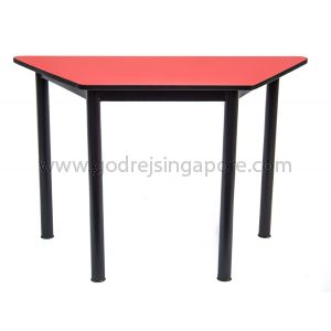 Trapezium Table-Red