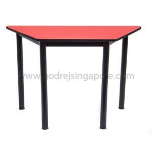 Trapezium Table-Red