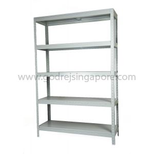 Boltless Rack Shelving  100kg/Shelf UDL 5 Shelves 1830mmH x 1220mm W x 400mm D