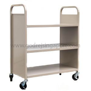 FLAT LIBRARY TROLLEY