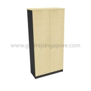 Tall Swing Door Cabinet Full Melamine 2000mm