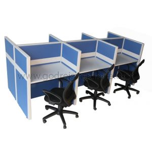 Hot Desking 6 Cluster