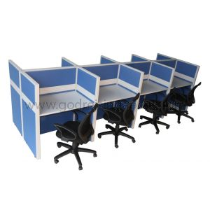Hot Desking 8 Cluster
