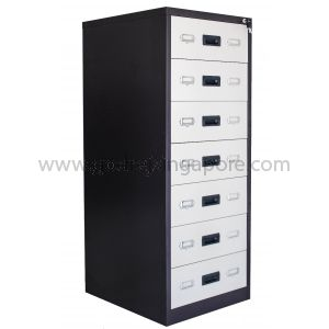 7 DRAWER CARD INDEX CABINET