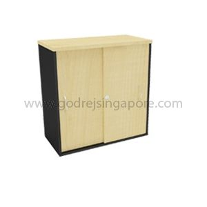 Low Height Sliding Door Cabinet