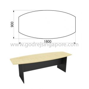 Boat Shaped Meeting Table