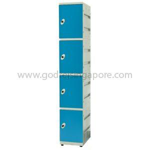 4 Door  ABS Locker Key/latch Lock(SINGLE COLUMN)- BLUE DOOR