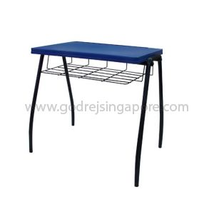 School Desk With Mesh Tray
