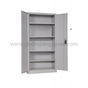 TALL SWING DOOR METAL CABINET 2100mm WITH SECURITY BAR