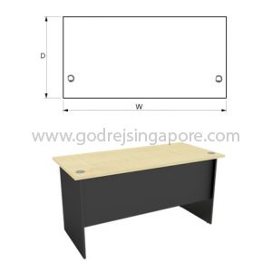 STANDARD WRITING TABLE 1500x750mm
