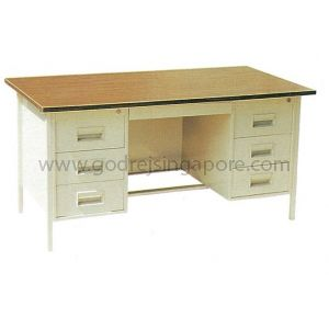 DOUBLE PEDESTAL DESK 1524mm