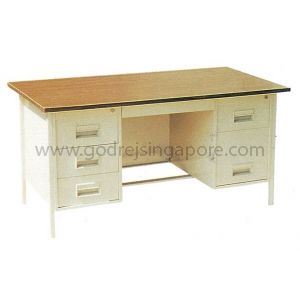 DOUBLE PEDESTAL DESK 1829mm