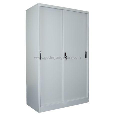 Metal Sliding Door Metal Cabinet 1500mm Godrej Furniture