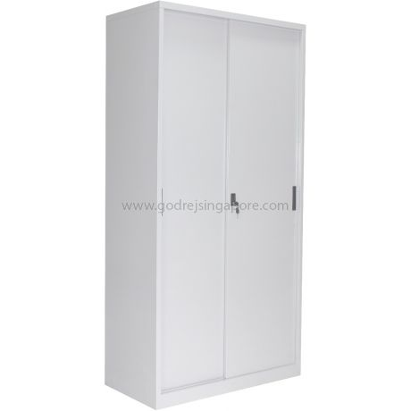 Full Height Metal Sliding Door Cabinet Godrej Furniture
