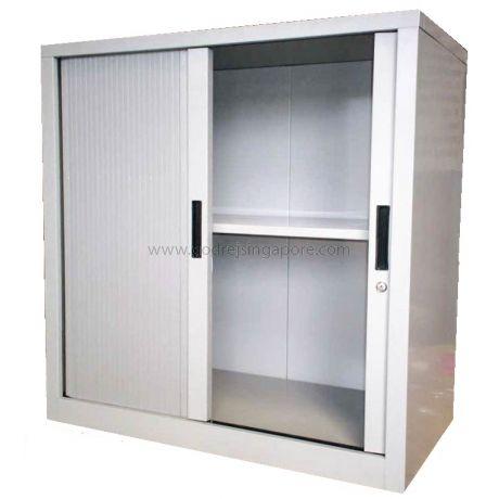Half Height Tambour Door Cabinet 900mmw Godrej Furniture